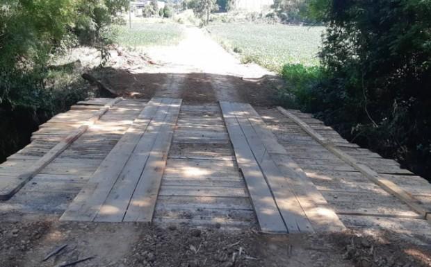 Foto de capa da notícia: Reforma da Ponte na Comunidade Nossa Senhora da Salete