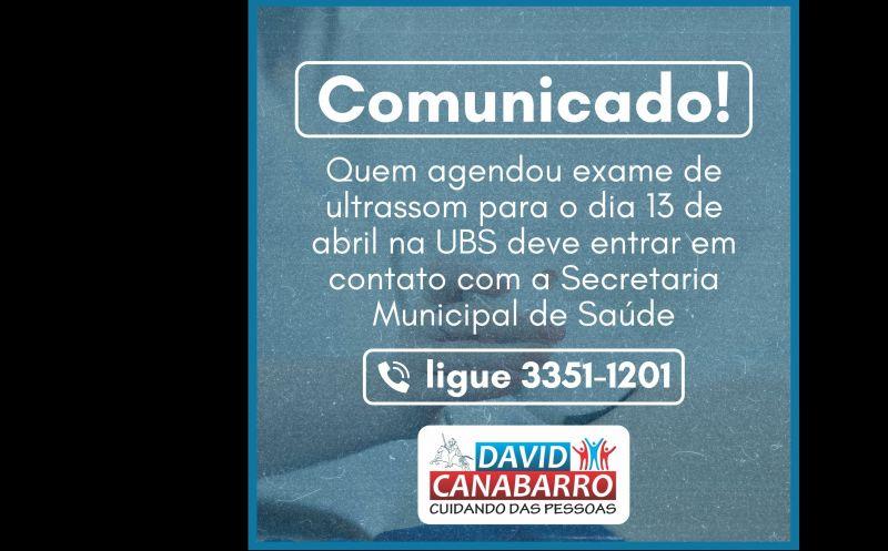Foto de capa da notícia: COMUNICADO IMPORTANTE