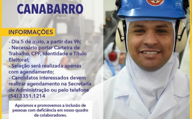 Foto de capa da notícia: OPORTUNIDADE DE EMPREGO!