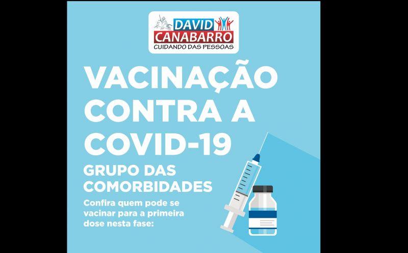 Foto de capa da notícia VACINAÇÃO CONTRA A COVID-19 DE PESSOAS COM COMORBIDADES AVANÇA NO MUNICÍPIO