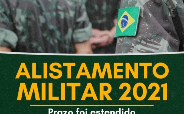 Foto de capa da notícia: PRAZO PARA REALIZAR ALISTAMENTO MILITAR FOI PRORROGADO PARA 31 DE AGOSTO