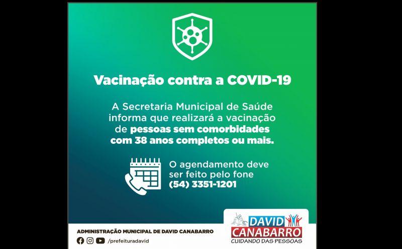 Foto de capa da notícia ATENÇÃO, CANABARRENSES SEM COMORBIDADES COM 38 ANOS OU MAIS!