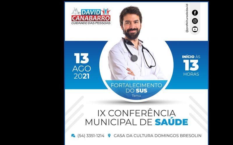 Foto de capa da notícia CONFERÊNCIA MUNICIPAL DE SAÚDE ACONTECE NA PRÓXIMA SEXTA-FEIRA
