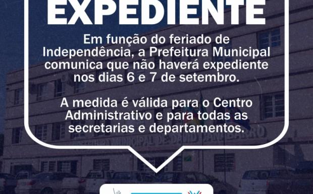 Foto de capa da notícia: COMUNICADO EXPEDIENTE DE INDEPENDÊNCIA