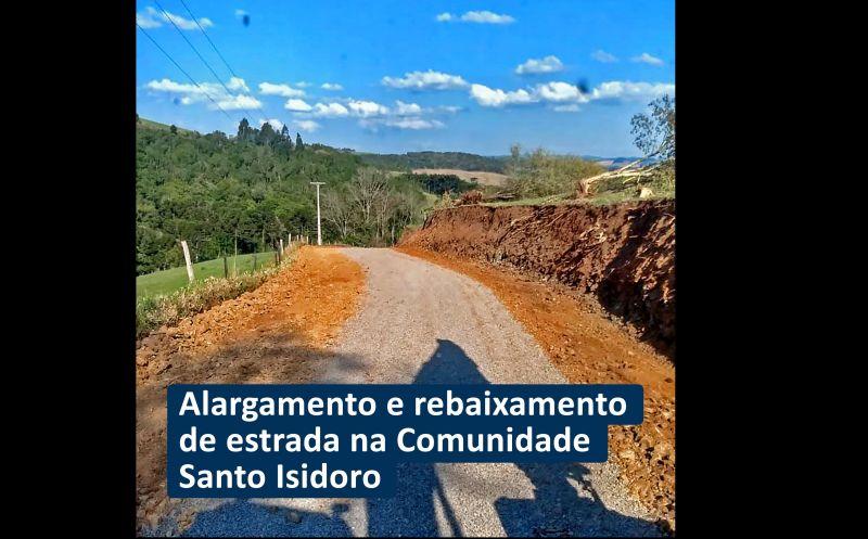 Foto de capa da notícia: ESTRADAS DO INTERIOR RECEBERAM MELHORIAS