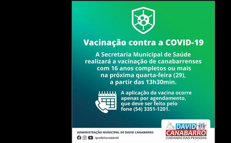 Foto de capa da notícia ATENÇÃO, CANABARRENSES COM 16 ANOS OU MAIS!