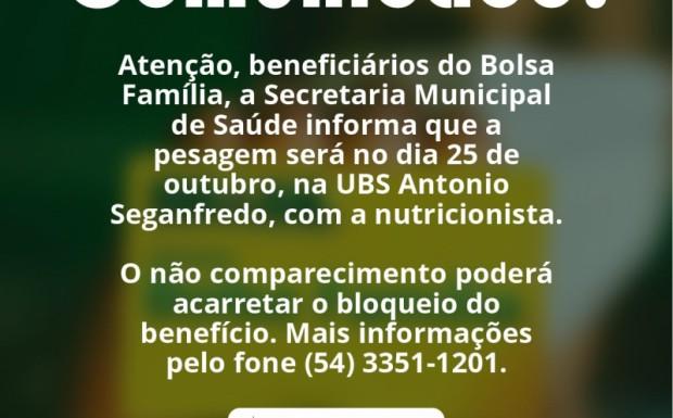 Foto de capa da notícia: COMUNICADO DA SECRETARIA MUNICIPAL DE SAÚDE!