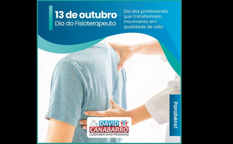 Foto de capa da notícia: DIA DO FISIOTERAPEUTA | 13 DE OUTUBRO