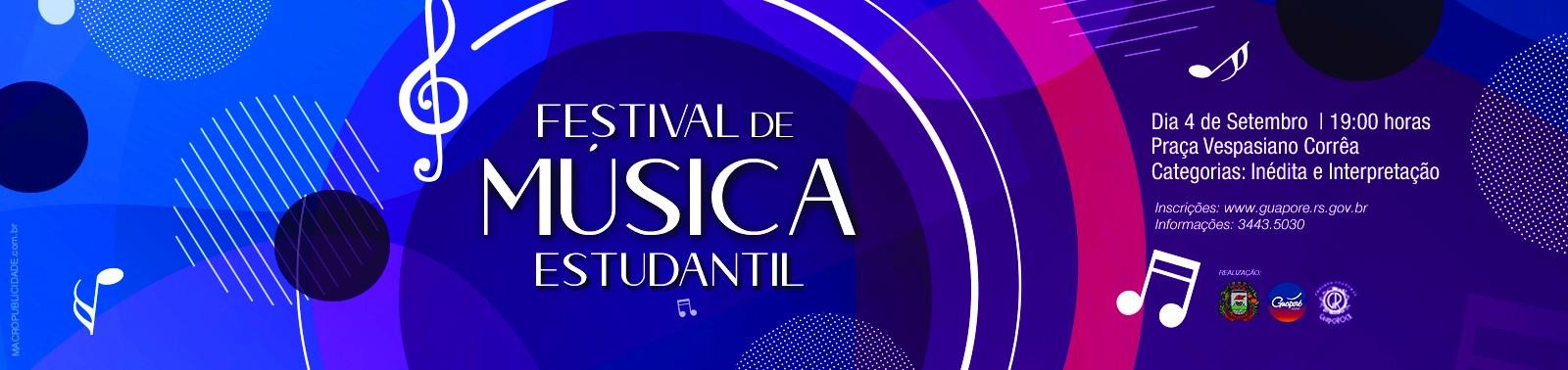 Banner 3 - Festival de Música Estudantil
