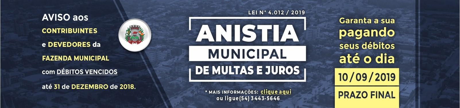Banner 3 - Anistia Multas e Juros