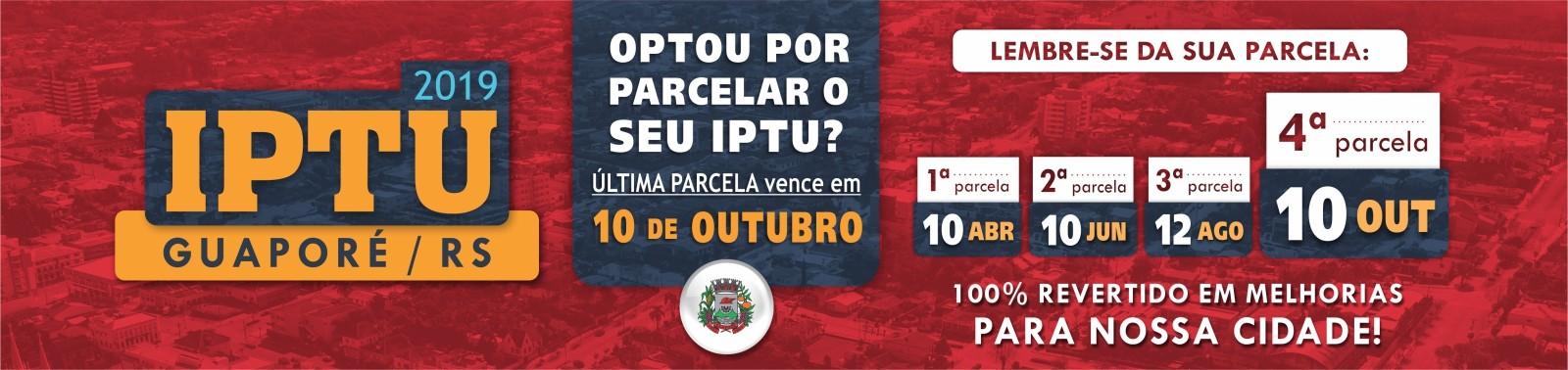 Banner 1 - IPTU 2019 - 4