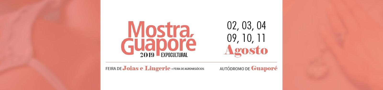 Banner 6 - Mostra Guaporé 2019