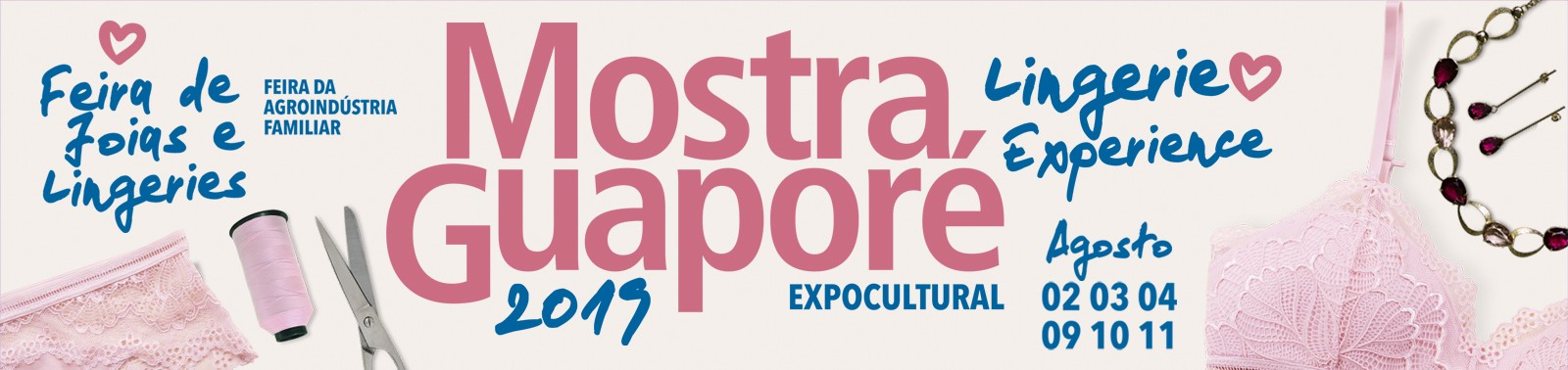 Banner 2 - Mostra Guaporé 2019