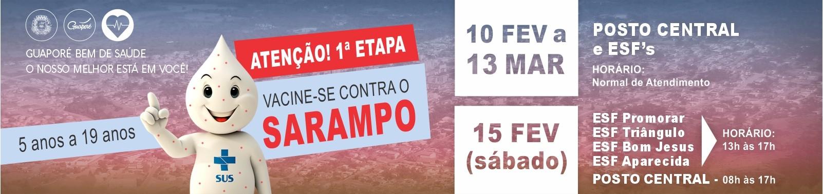 Banner 3 - Vacina Sarampo