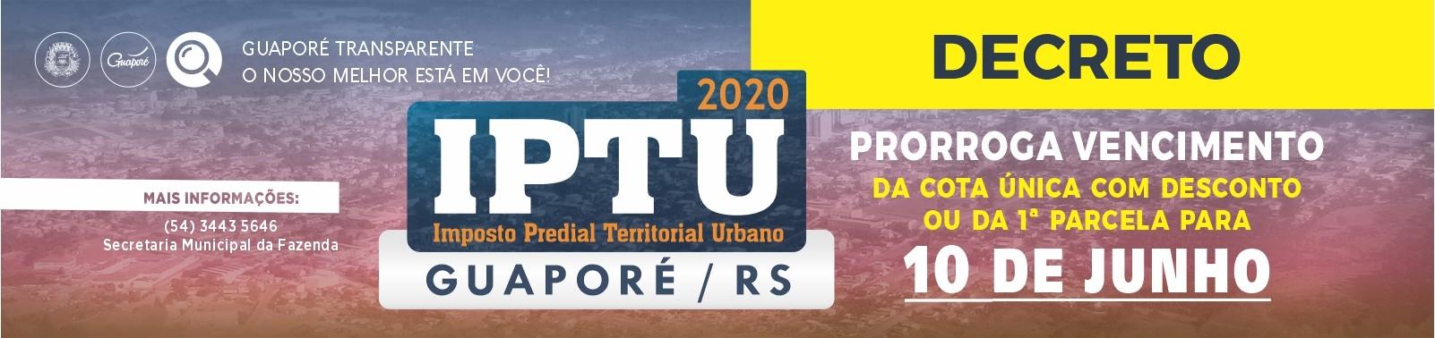Banner 5 - IPTU - 2