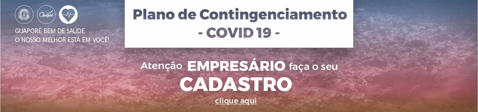 Banner 1 - Plano Contingenciamento - Cadastro
