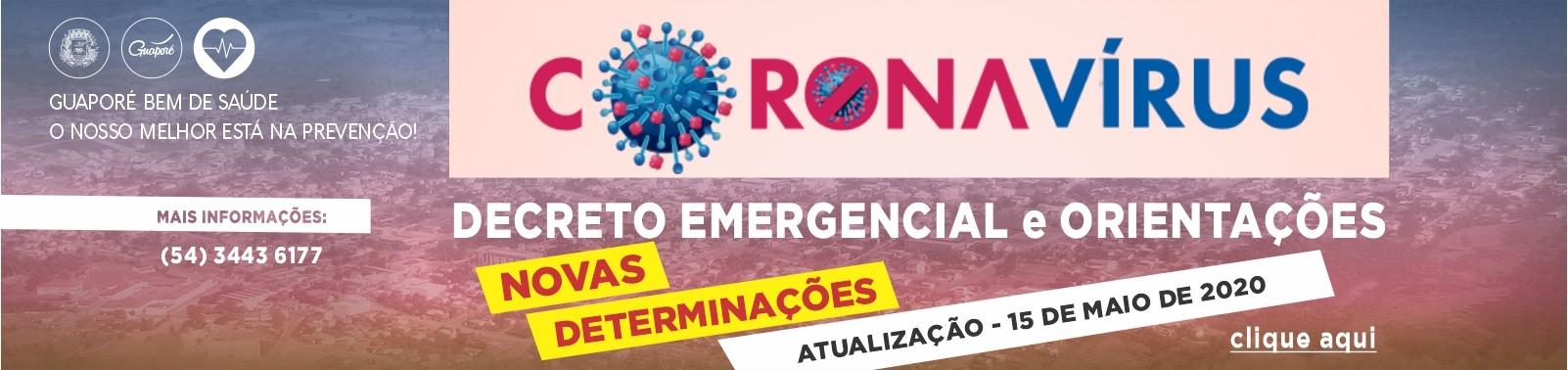 Banner 5 - Coronavírus - Decreto 6312