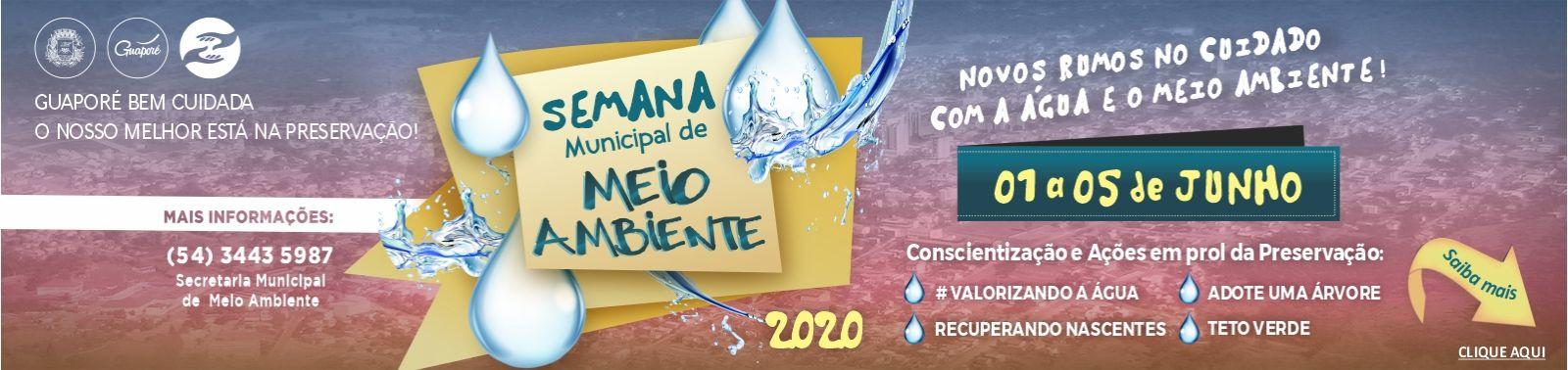 Banner 1 - Semana do Meio Ambiente