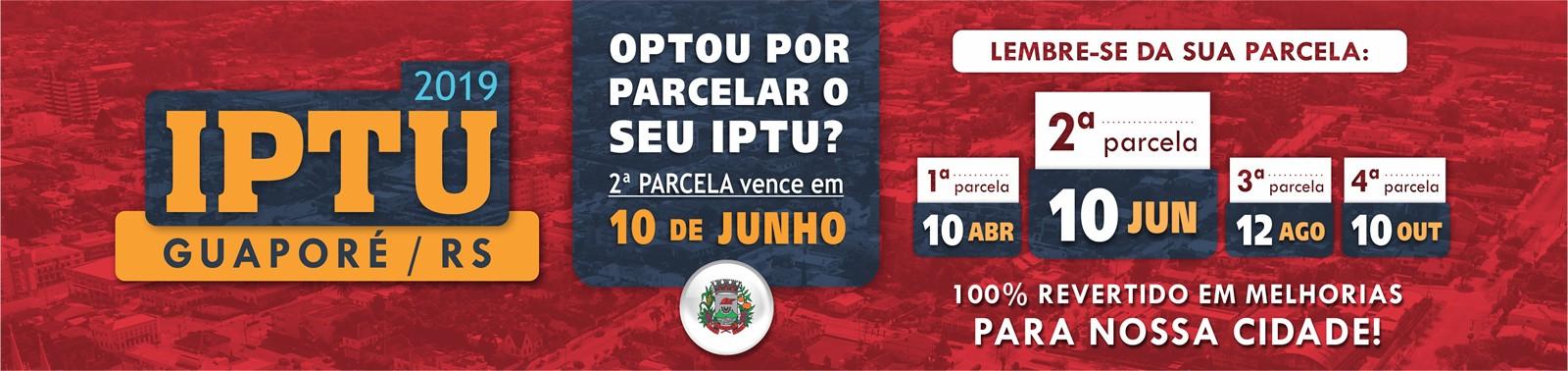 Banner 2 - IPTU 2019