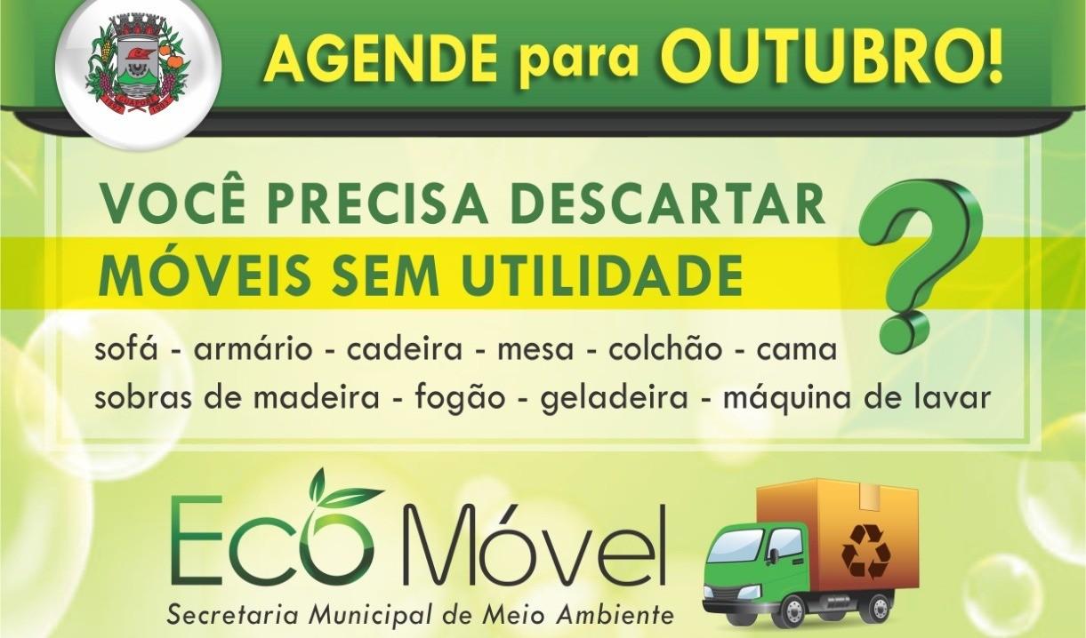 Foto de capa da notícia: Eco Móvel e Eco Ponto à disposição para o descarte correto de volumosos