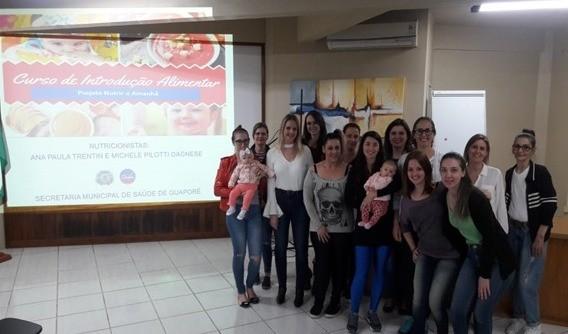 """Foto de capa da notícia: Secretaria da Saúde promove """"Curso de Papinhas"""""""