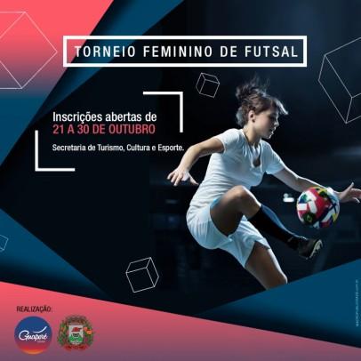 Foto de capa da notícia: Torneio Feminino de Futsal com inscrições abertas
