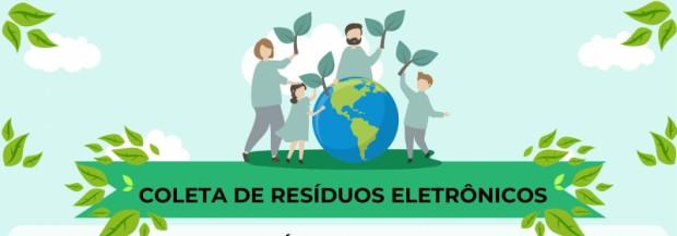 Foto de capa da notícia: Meio Ambiente realiza a 4ª etapa da coleta de resíduos eletrônicos
