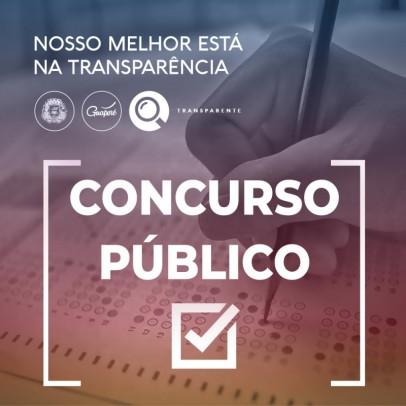 Foto de capa da notícia: Administração Municipal abre inscrições para concurso público