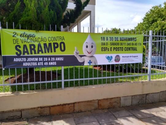 Foto de capa da notícia: Secretaria da Saúde prepara a segunda etapa de vacinação contra o sarampo