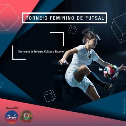 Foto de capa da notícia: Torneio de Futsal Feminino reúne sete equipes em Guaporé