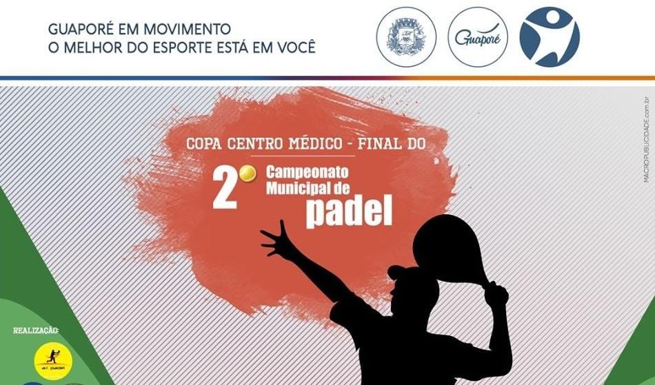 Foto de capa da notícia: Campeonato Municipal de Padel chega a etapa decisiva de 2019