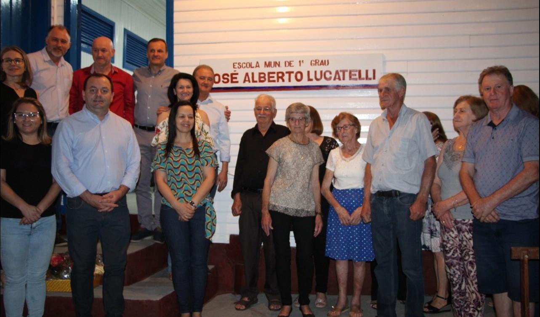 Foto de capa da notícia: Capitel São Roque e Escola José Alberto Lucatelli são tombados como patrimônio público