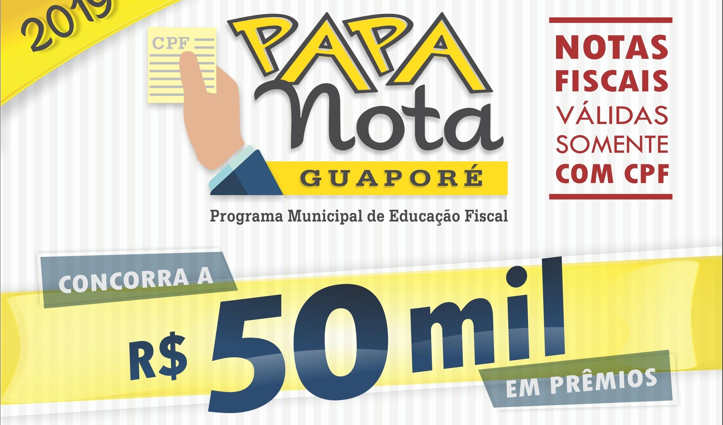 Foto de capa da notícia: Papa Notas sorteia R$ 50 mil para consumidores que apostaram no comércio de Guaporé