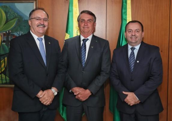Foto de capa da notícia: Vice-prefeito Bastian tem audiência com o presidente da República Jair Bolsonaro