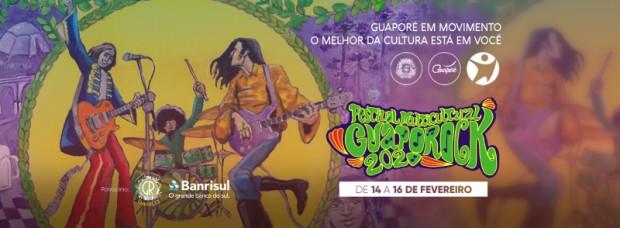 Foto de capa da notícia: 4º Festival Multicultural GuapoRock com extensa programação