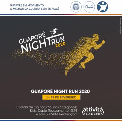 Foto de capa da notícia: 3ª edição do Guaporé Night Run integra o 4º Festival Multicultural GuapoRock