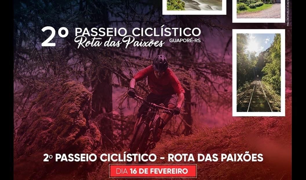 """Foto da Notícia Festival Multicultural GuapoRock será abrilhantado com o 2º Passeio Ciclístico """"Rota das Paixões"""""""