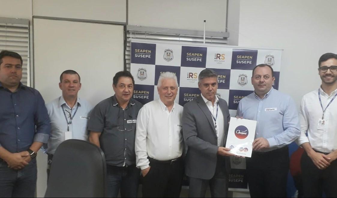 Foto de capa da notícia: Segurança Pública:  Reivindicações são levadas ao secretário de Segurança Penitenciária
