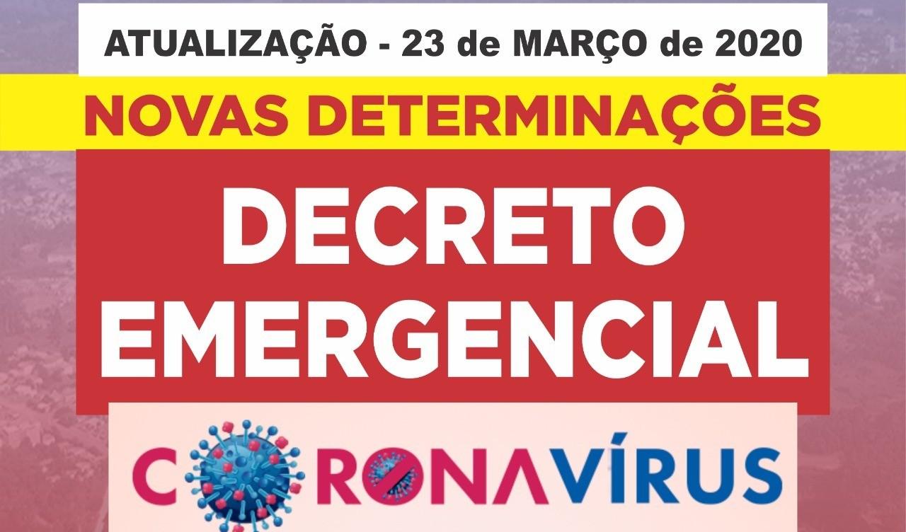 Foto de capa da notícia: Decreto atualiza restrições para conter disseminação do coronavírus em Guaporé