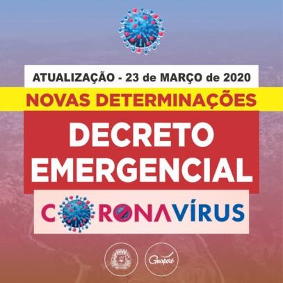 Foto de capa da notícia: Poder Público determina novas medidas em todo o território de Guaporé