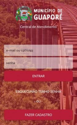 Foto de capa da notícia: Prefeitura de Guaporé disponibiliza aplicativo para população protocolar documentos e requisitar serviços sem sair de casa