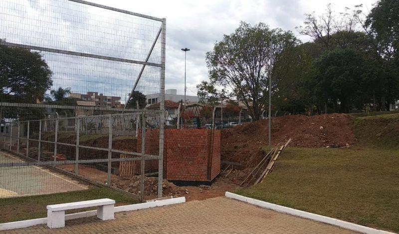 Foto de capa da notícia: Praça Getúlio Vargas revitalizada será uma referência em esporte e lazer