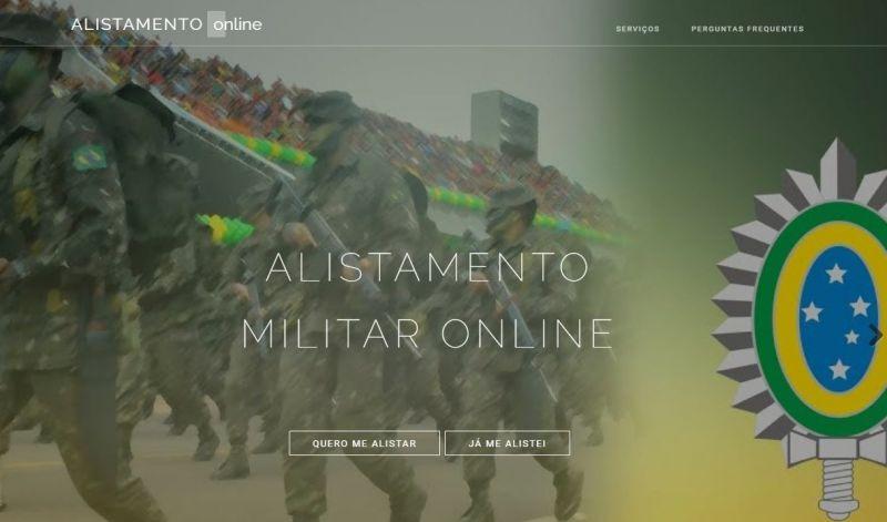 Foto de capa da notícia: Alistamento Militar online proporciona rapidez e segurança para os jovens
