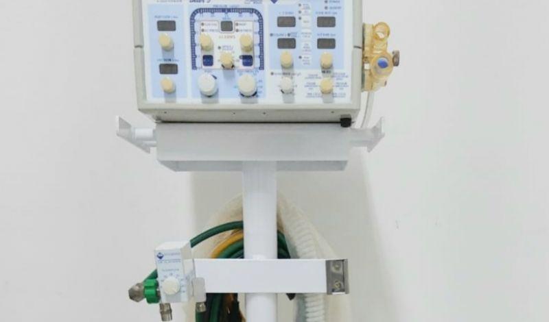 Foto de capa da notícia: Poder Público investe na aquisição de ventilador mecânico para o Hospital de Guaporé
