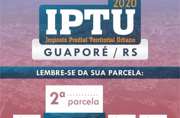 Foto de capa da notícia: IPTU 2020: Segunda parcela do imposto vence em 10 de julho
