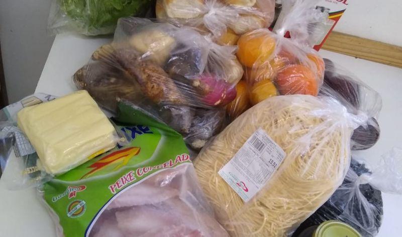 Foto de capa da notícia: 159 kits de alimentação foram entregues nas Escolas Municipais de Educação Infantil