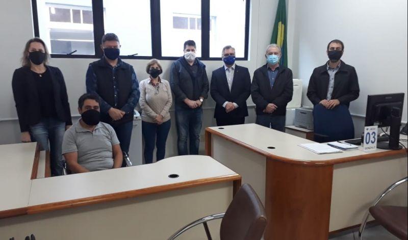 Foto de capa da notícia: Poder Público é parceiro na instalação do Posto de Atendimento da Receita Federal