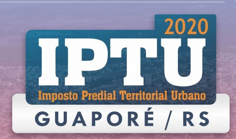 Foto de capa da notícia: Terceira parcela do IPTU vence no dia 12 de agosto