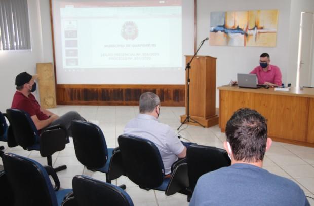 Foto de capa da notícia: 435 itens são leiloados pelo Poder Público de Guaporé