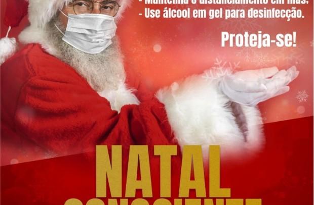 Foto de capa da notícia: Campanha Natal Consciente: Faça suas compras protegendo quem você ama!